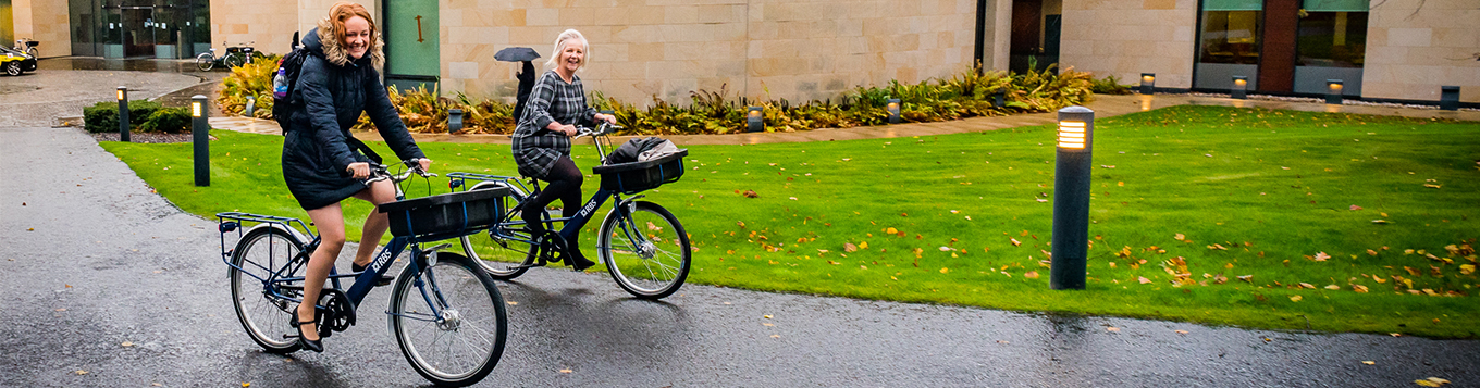 Royal Bank of Scotland receives Cycle Friendly Employer Plus Award