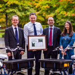 Royal Bank of Scotland receives Scotland's first-ever Cycle Friendly Employer Plus Award
