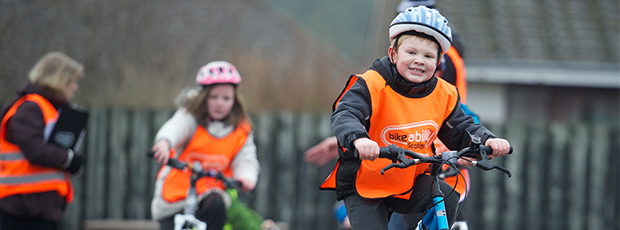 Top 5 reasons why Bikeability Scotland cycle training is great for your child