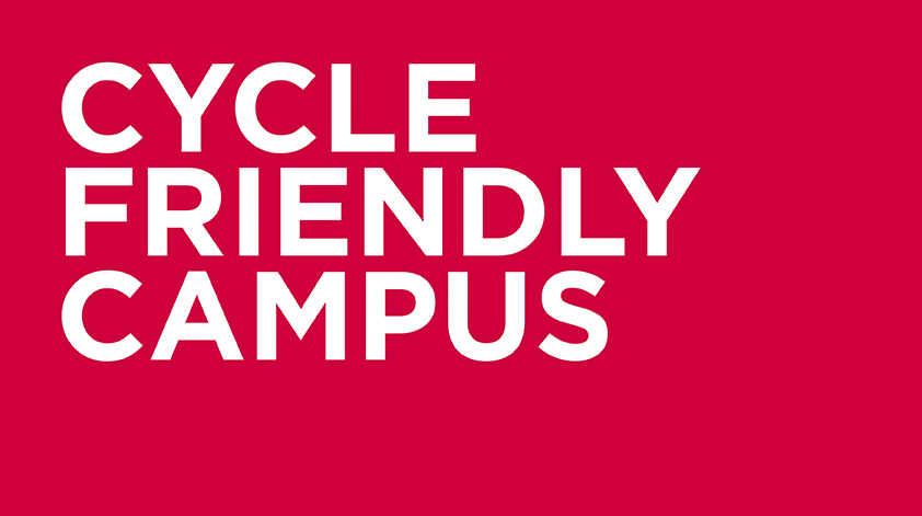 Cycle Friendly Campus Award for University of the West of Scotland Ayr Campus