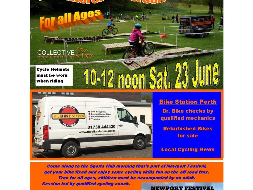 Cycle Skills Fun At Waterstone Crook, Newport on Tay