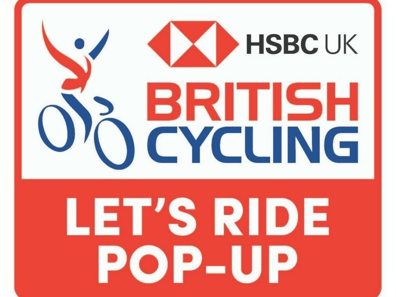 British Cycling Let's Ride Pop Up Event Glasgow