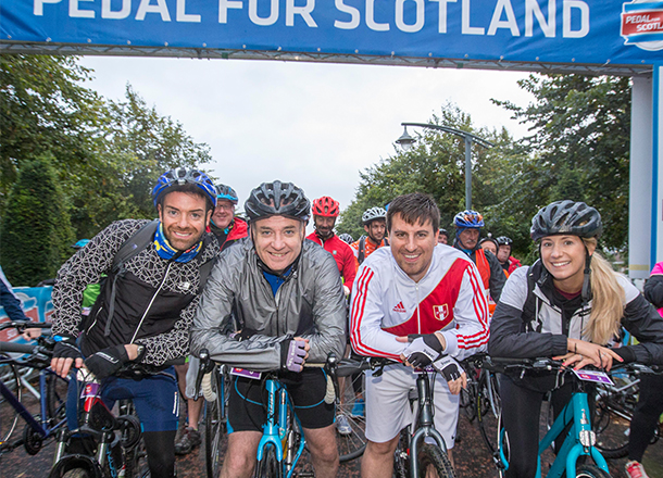 Pedal for Scotland 2018