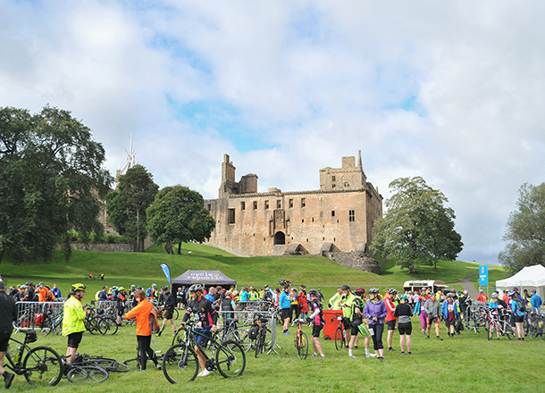 Pedal for Scotland 2018 photo album