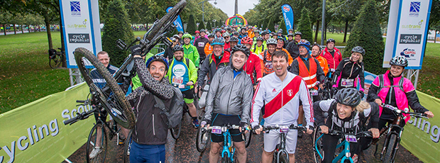 Scotland's biggest bike event racks up over 290,000 miles of cycling