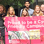 Fourteen interns to promote cycling on Scottish campuses