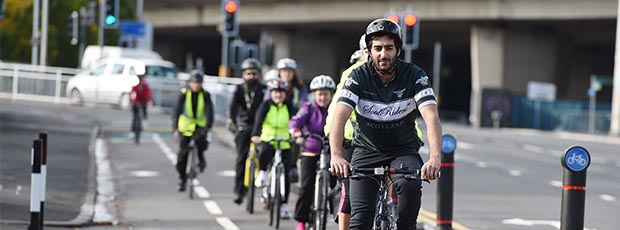 Cabinet Secretary announces funding to get communities cycling