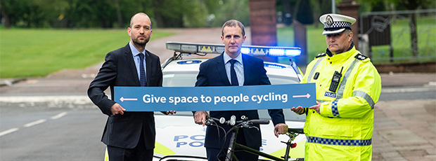 Cycling Scotland launches national road safety campaign