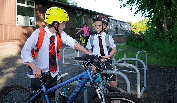 Bikeability Scotland leaflet for Primary Schools