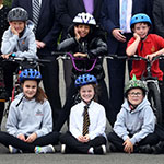 Record increase in schools offering free cycle training for pupils