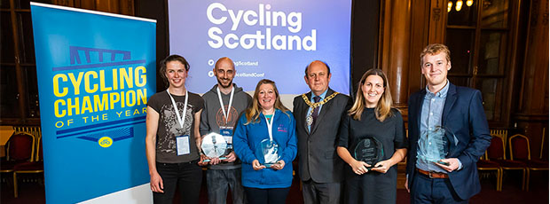 Cycling Champions celebrated
