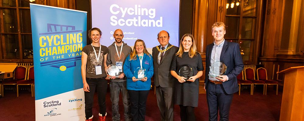 Cycling Champions celebrated