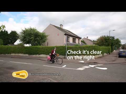 2.12 Bikeability Scotland Level 2 - Mini-Roundabout Turning Left