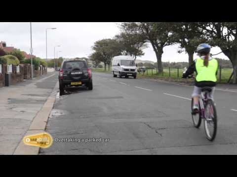 2.10 Bikeability Scotland Level 2 - Overtaking a parked car