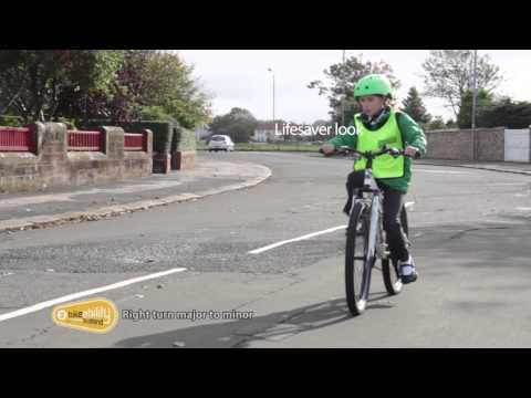2.08 Bikeability Scotland Level 2 - Right Turn Major to Minor