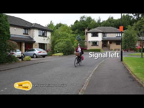 2.07 Bikeability Scotland Level 2 - Left Turn Minor to Major