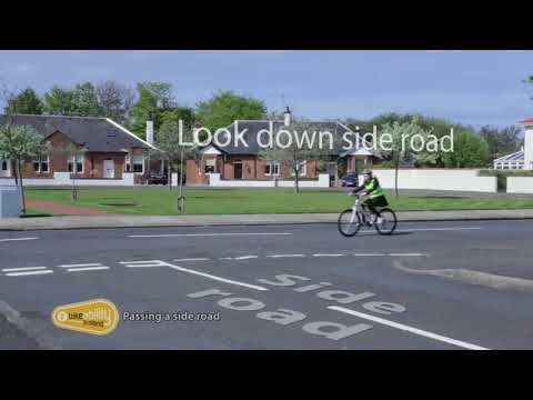 2.05 Bikeability Scotland Level 2 - Passing a side road
