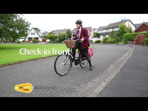 2.04 Bikeability Scotland Level 2 - Emergency stop
