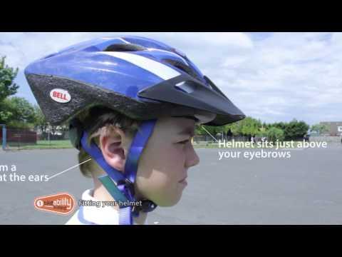 1.03 Bikeability Scotland Level 1 - Fitting a Helmet