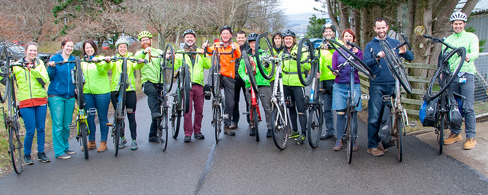 Organisations commit to making Scotland cycling friendly